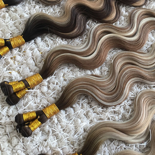 Body Wave Hand Tied Weft