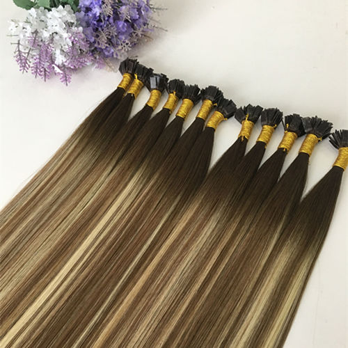 Flat tip Hair 25 Strands/ Pack