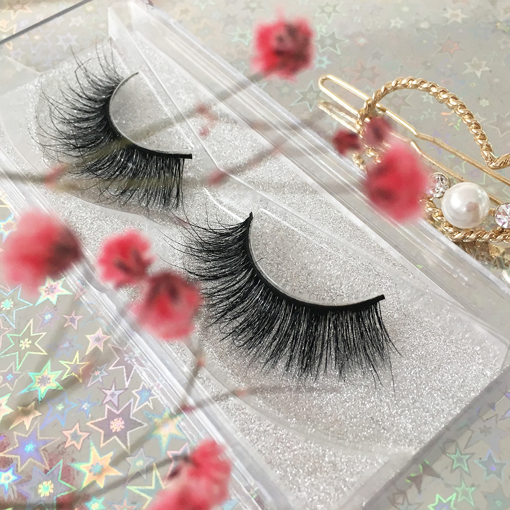 A05 Normal Thickness 3D Mink Eye Lashes